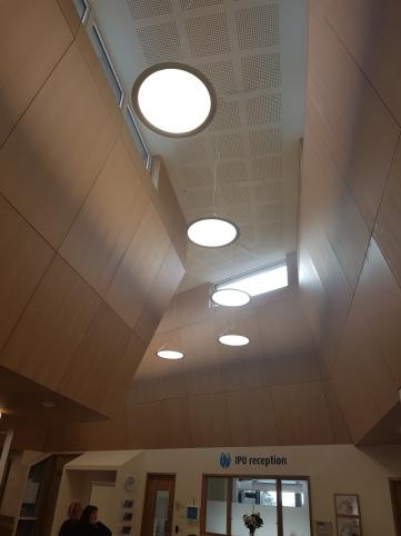 Beautiful light high ceilings